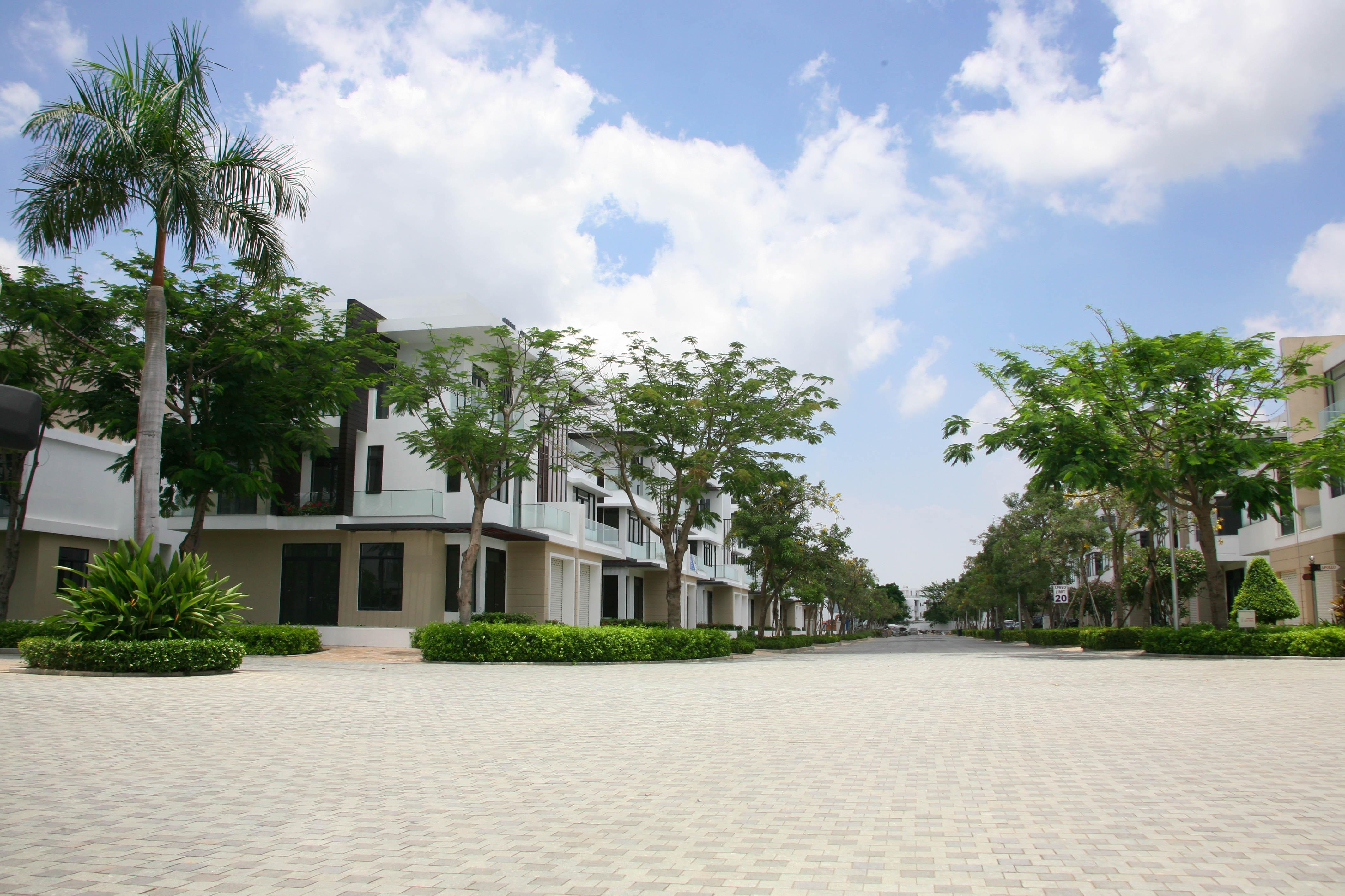 Hình ảnh thực tế các biệt thự Lucasta Quận 9
