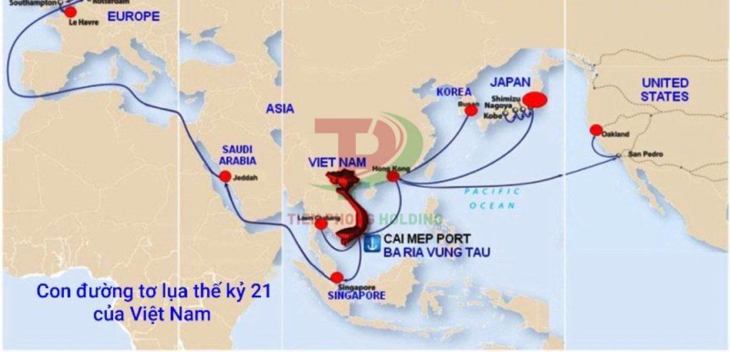 Con đường vận tải Biển trong thế ký 21