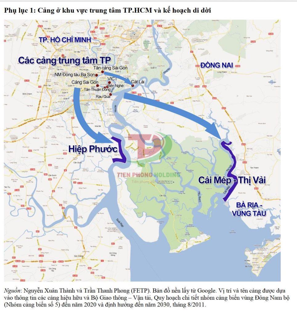Qúa trình phát triển hệ thống cảng biển tại Miền Nam
