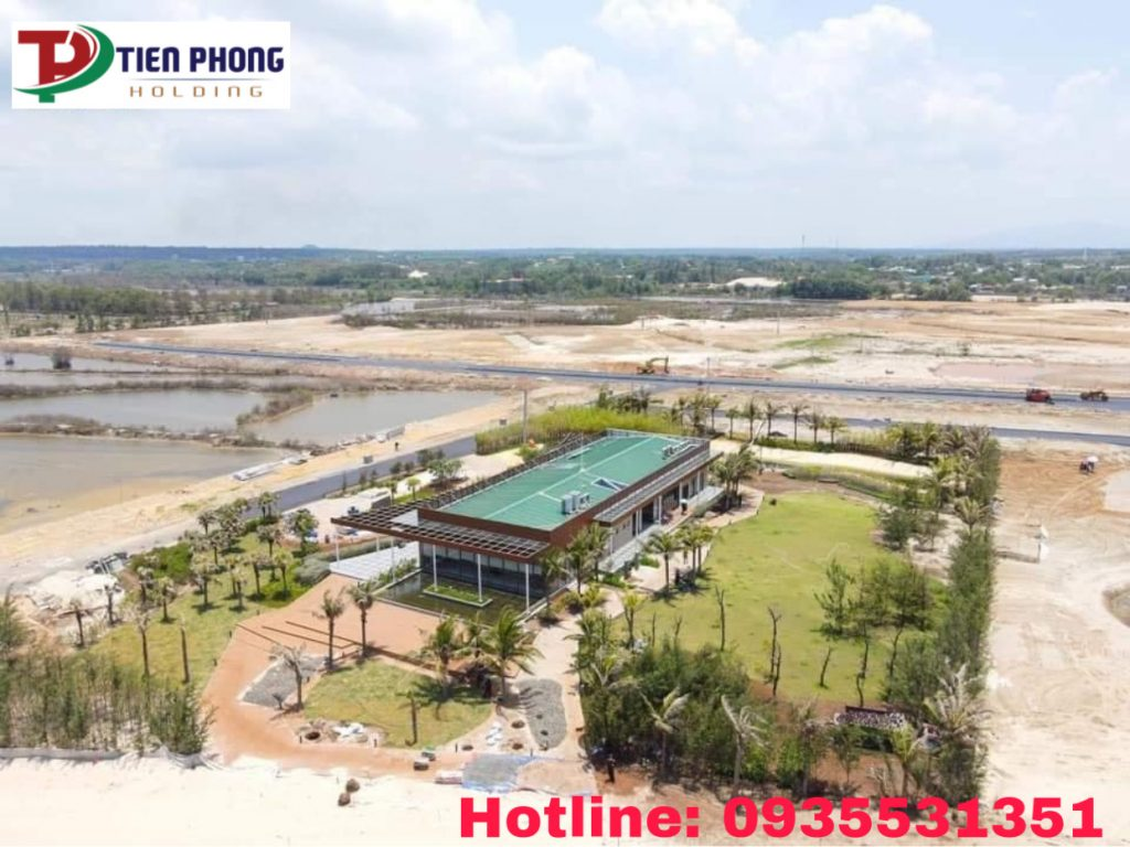 Khu nhà điều hành và bán hàng dự án Venezia Beach Luxury Residences & Resort