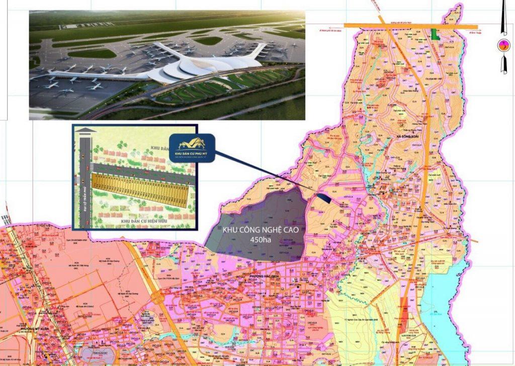 Vị trí 36 nền mặt tiền đường Trần Phú, KP3, P.Hắc Dịch, Tx Phú Mỹ