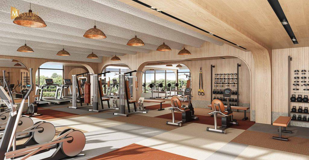 Phòng Gym cao cấp và hiện đại